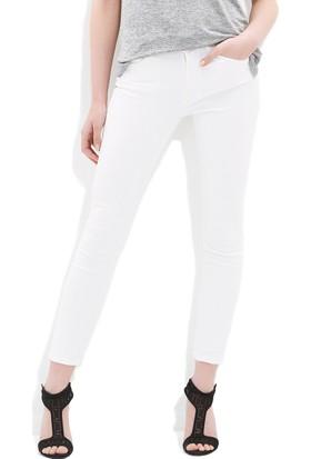 Mavi Kadın Tess Gold Beyaz Jean Pantolon