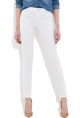 Mavi Alissa Beyaz Gold Jean Pantolon