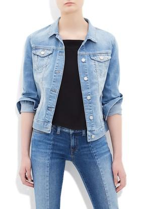 Mavi Kadın Daisy Vintage Açık Mavi Jean Ceket