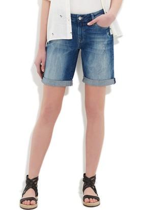 Mavi Kadın Alexis Yırtıklı Vintage Jean Şort