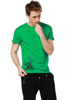 Mumu Pullum - İlker Sak Yeşil Erkek T-Shirt