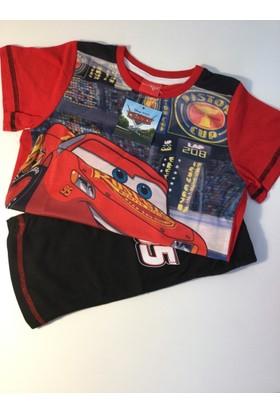 Disney Cars Yazlık Pijama Takımı
