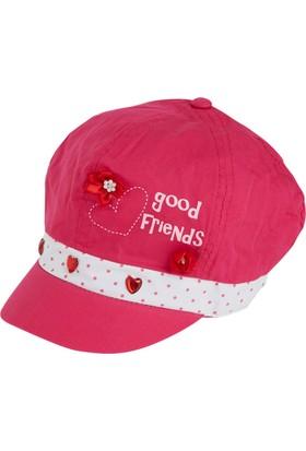 Soobe SBAKCSPK1178 Kız Çiçekli Şapka