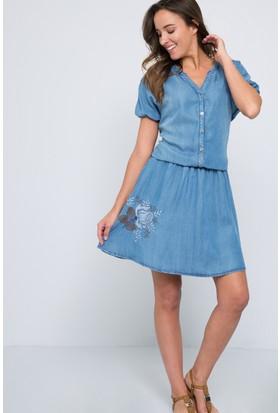 U.S. Polo Assn. Verona Kadın Denim Elbise