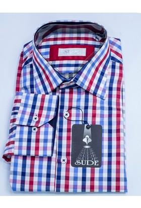 Sude Triko Erkek Klasik Uzun Kollu Gömlek Sg31965-2
