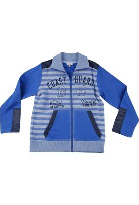 Zeyland Erkek Çocuk Mavi Sweat Fer.Hirka K-32D523265