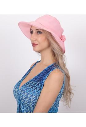 Bay Şapkacı Kadın Güllü İnce Şapka