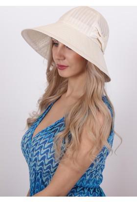 Bay Şapkacı Kadın Fiyonklu Şapka