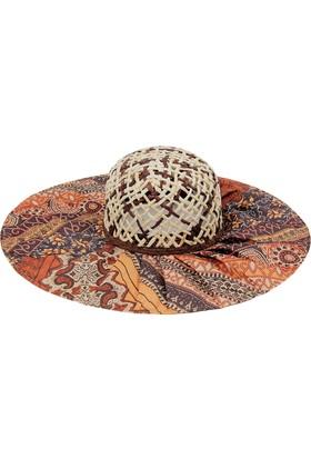 Bay Şapkacı Kadın Siperi Desenli Şapka