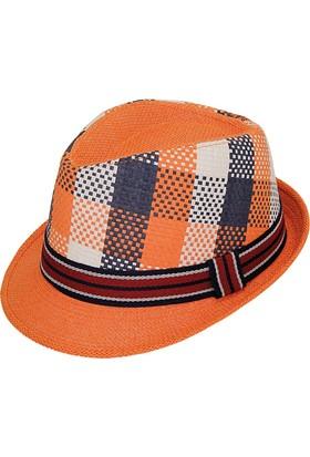 Bay Şapkacı Erkek Unisex Desenli Fötr Şapka