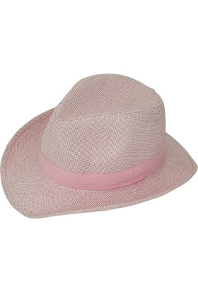 Bay Şapkacı Kadın Kovboy Basic Fötr Şapka