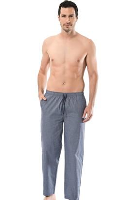 Cacharel 2145 Poplin Erkek Bermuda Tek Alt Pijama