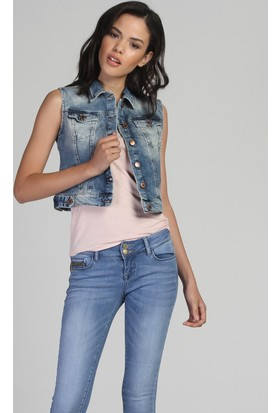 Twister Jeans Ruda By-01 Kot Yelek