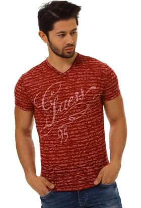 Twister Jeans Ets 1008 Bordo Erkek T-Shirt