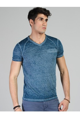 Twister Jeans Ets 1502 Petrol Erkek T-Shirt