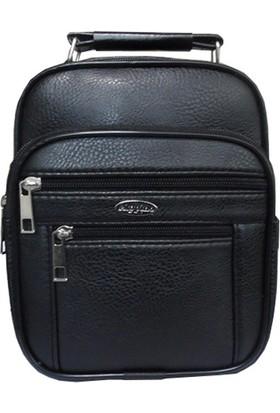 Tarzbuya Erkek Büyük Boy Siyah Askılı El çantası