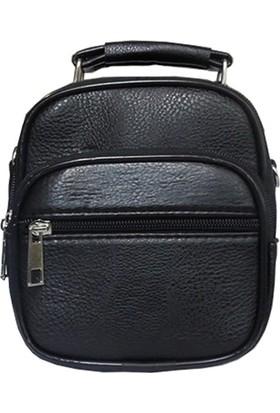 Tarzbuya ErkekKüçük Boy Siyah Askılı El çantası