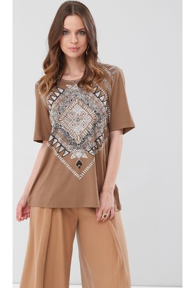 Lir Kadın Bluz Vizon 2107