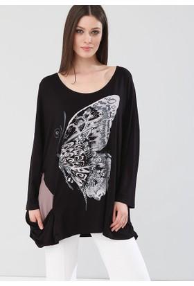 Lir Kadın Bluz Siyah 2135