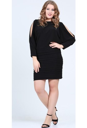 Angelino Butik Kl121 Siyah Abiye Elbise