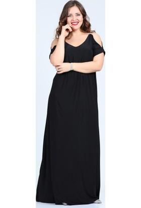 Angelino Butik Kl8081 Siyah Abiye Elbise