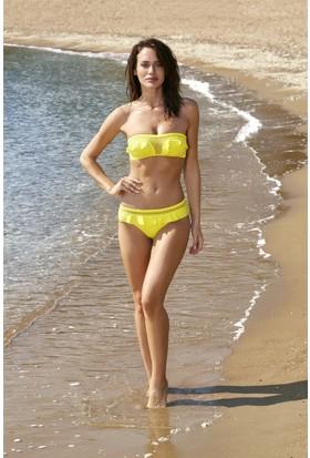 No Gossip Tüllü Bikini Tek Alt 179206