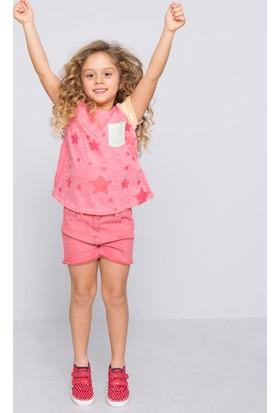 U.S. Polo Assn. Kız Çocuk Vacor T-Shirt Pembe