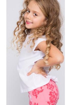 U.S. Polo Assn. Kız Çocuk Varlin T-Shirt Beyaz