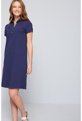 U.S. Polo Assn. Kadın Gurlin Elbise Lacivert
