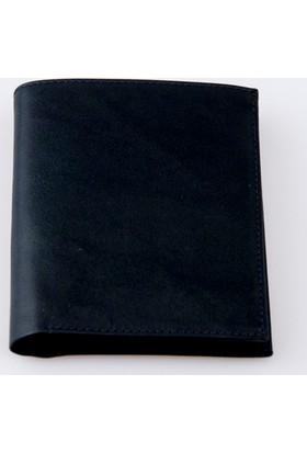 Erkek Deri Cüzdan ve Kartlık Siyah Ayris Leather