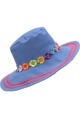 Babygiz Denim Fötr Şapka