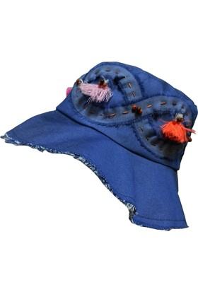 Babygiz Denim Kız Şapka