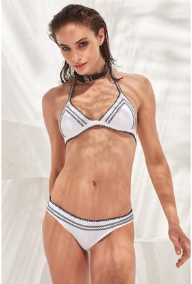 Less İs More Crochet Bikini Üstü Lm17112