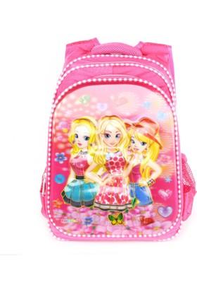 Sailor 7258 7D Kabartmalı Okul Sırt Çantası
