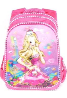 Sailor 7259 7D Kabartmalı Okul Sırt Çantası