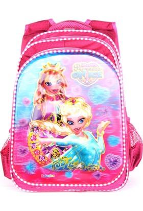 Sailor 7260 7D Kabartmalı Okul Sırt Çantası