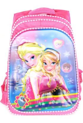 Sailor 7262 7D Kabartmalı Okul Sırt Çantası