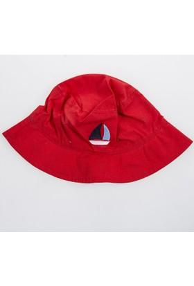 Soobe Erkek Newborn Şapka Kırmızı
