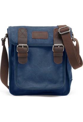 Muchuan Kanvas Postacı Çanta Mavi