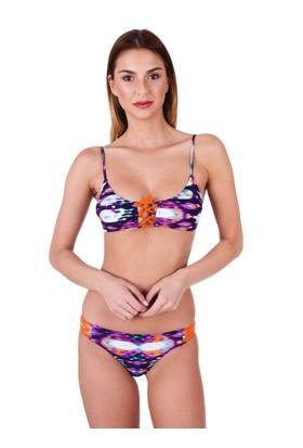 Ayyıldız Kadın Önden Çapraz Bağlı Bikini