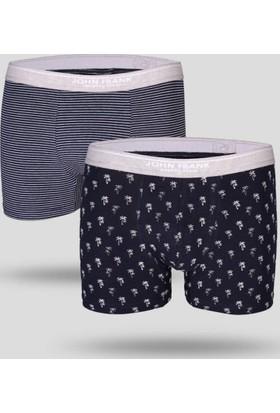 Ayyıldız Erkek İkili Paket Esnek Boxer Külot