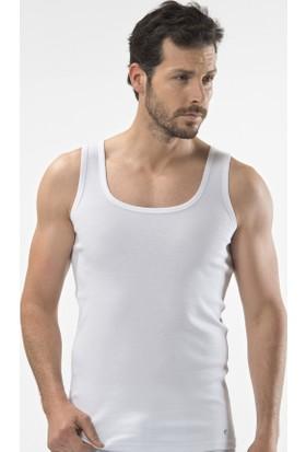 Cacharel 2'Li Pamuk Atlet 1501 Beyaz