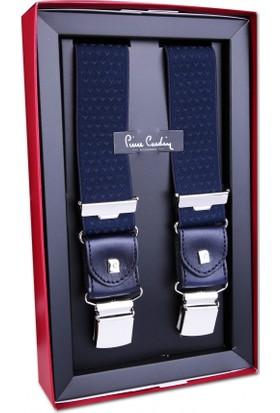 Pierre Cardin Lacivert Noktalı Pantolon Askısı Pa27
