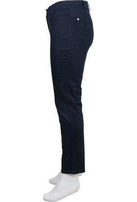 Ruşetül Cotton Kadın Büyük Beden Pantolon Siyah