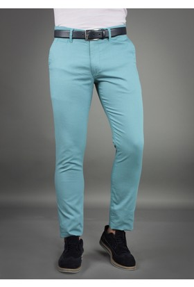 Brango 50124-5 Dar Kalıp Mint Yeşil Pantolon