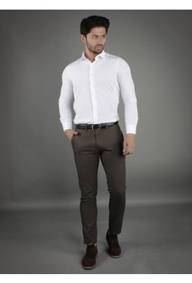 Brango 50126-4 Dar Kalıp Yeşil Pantolon