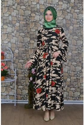 Modayns Kamuflaj Elbise