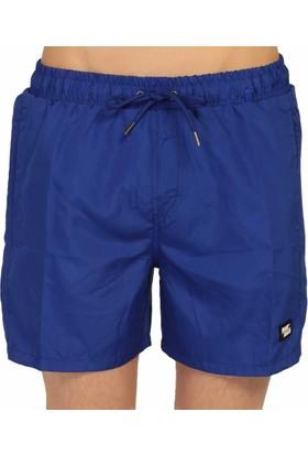 Miami Beach Su İtici Özellikli Erkek Havuz Deniz Şort Mayo - Düz Renk Basic - 301-Saks