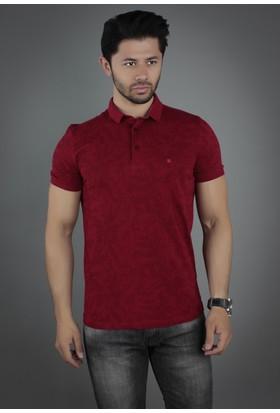 Brango 40132-9 Alessio Desenli Polo Yaka Bordo T-Shirt