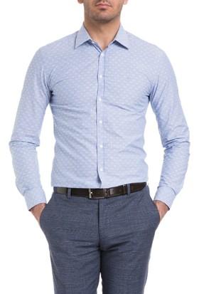Cacharel Valence Gömlek Mavi